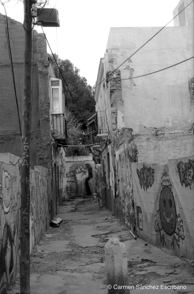 Lagunillas fachadas Málaga 2021