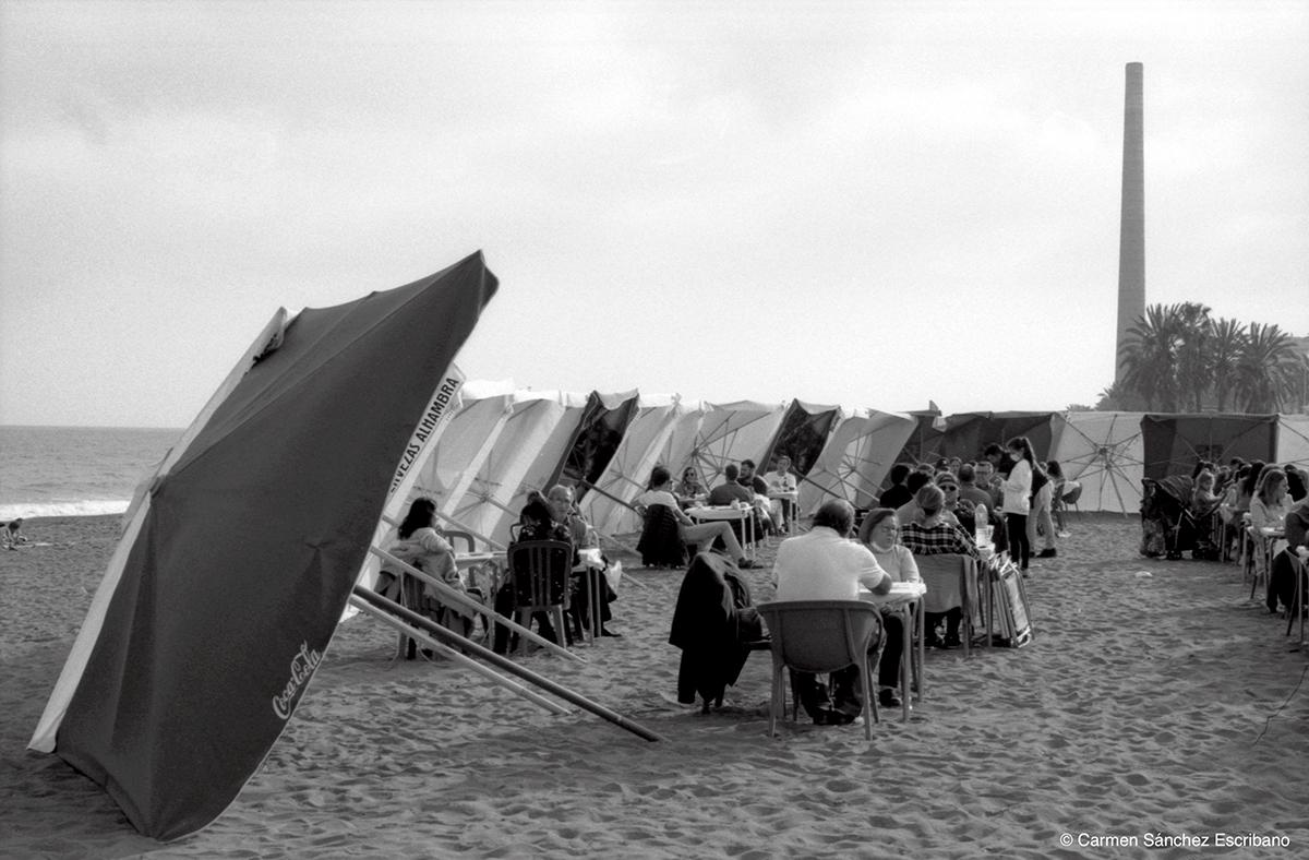 Playa Huelin Málaga 2021